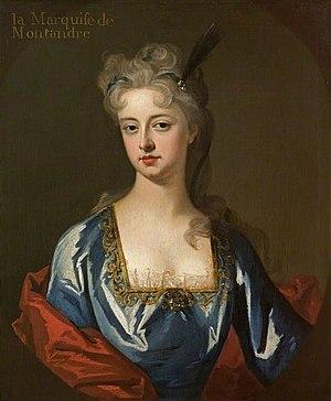 François de La Rochefoucauld, Marquis de Montandre - Mary Anne Spanheim, wife of de la Rochefoucauld