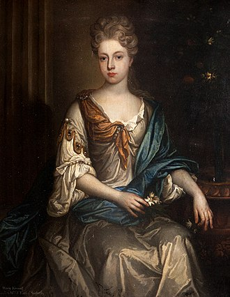William Mackenzie, 5th Earl of Seaforth - William Mackenzie's wife, Mary (pictured), bore him three sons.