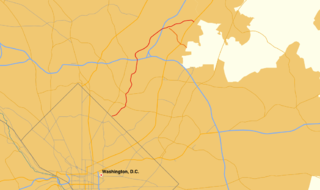 Maryland Route 212 state highway in Prince Georges County, Maryland, United States