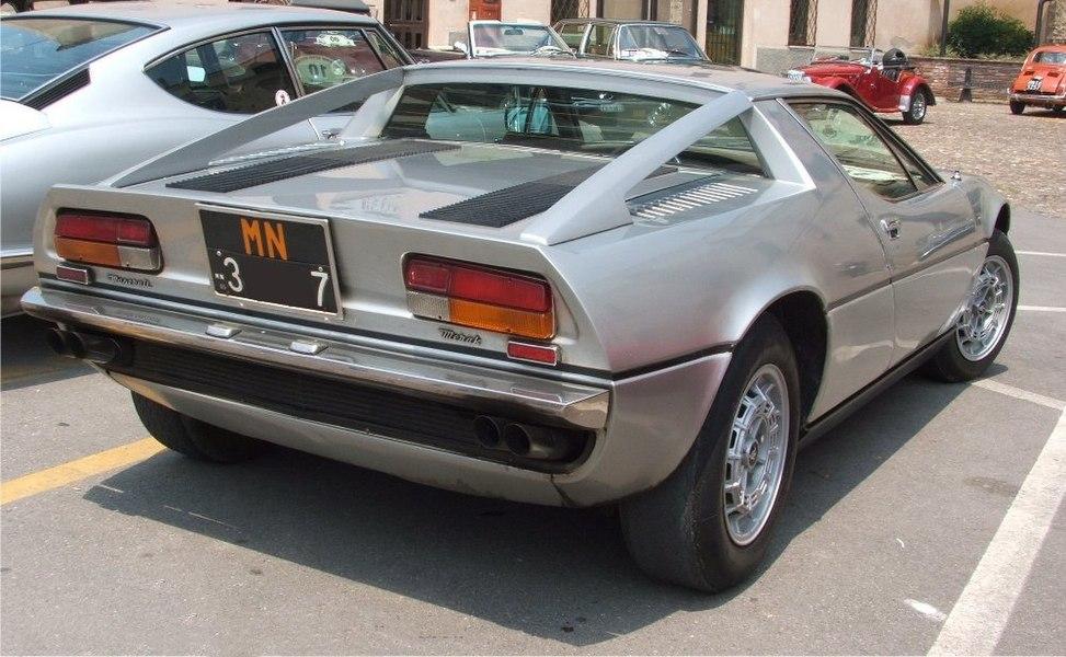 Maserati Merak - Wikipedia