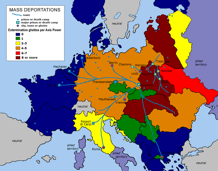 Ghettos in Nazi-occupied Europe
