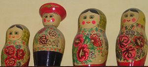 Semyonov, Nizhny Novgorod Oblast - Matryoshka dolls from Semyonov