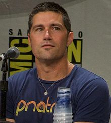 O actor y modelo estatounitense Matthew Fox, en una imachen de 2008