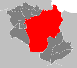 Location of Maturín, Venezuela