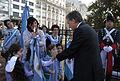 Mauricio Macri encabezó el acto oficial por el 433° aniversario de la fundación de la Ciudad (9570891745).jpg