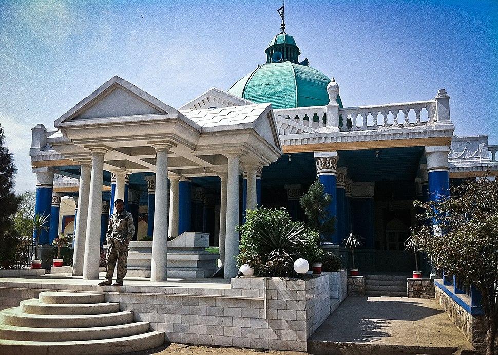 Mausoleum of Amanullah Khan-cropped