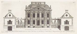 1723 in architecture - Mavisbank House, Scotland