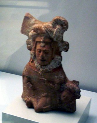 Goddess I - Possible representation of Goddess I in the Classic Period. Museo de América, Madrid