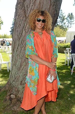 Measha Brueggergosman - Image: Measha Brueggergosman at CFC Annual BBQ Fundraiser 2014