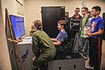 Medical Lake JROTC cadets tour Fairchild 150504-F-LV269-013.jpg