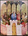 Medio reno o westfalia, altare del medio reno, 1410 ca., recto 07 pentecoste.jpg