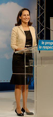 Ségolène Royal nel 2007