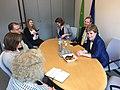 Meeting with Nicola Sturgeon in the European Parliament (27538102643).jpg