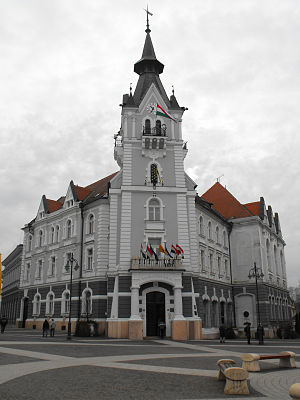 Kaposvár - The City Hall of Kaposvár
