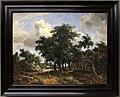 Meindert hobbema, strada del villaggio sotto gli alberi, 1663 ca. 01.jpg