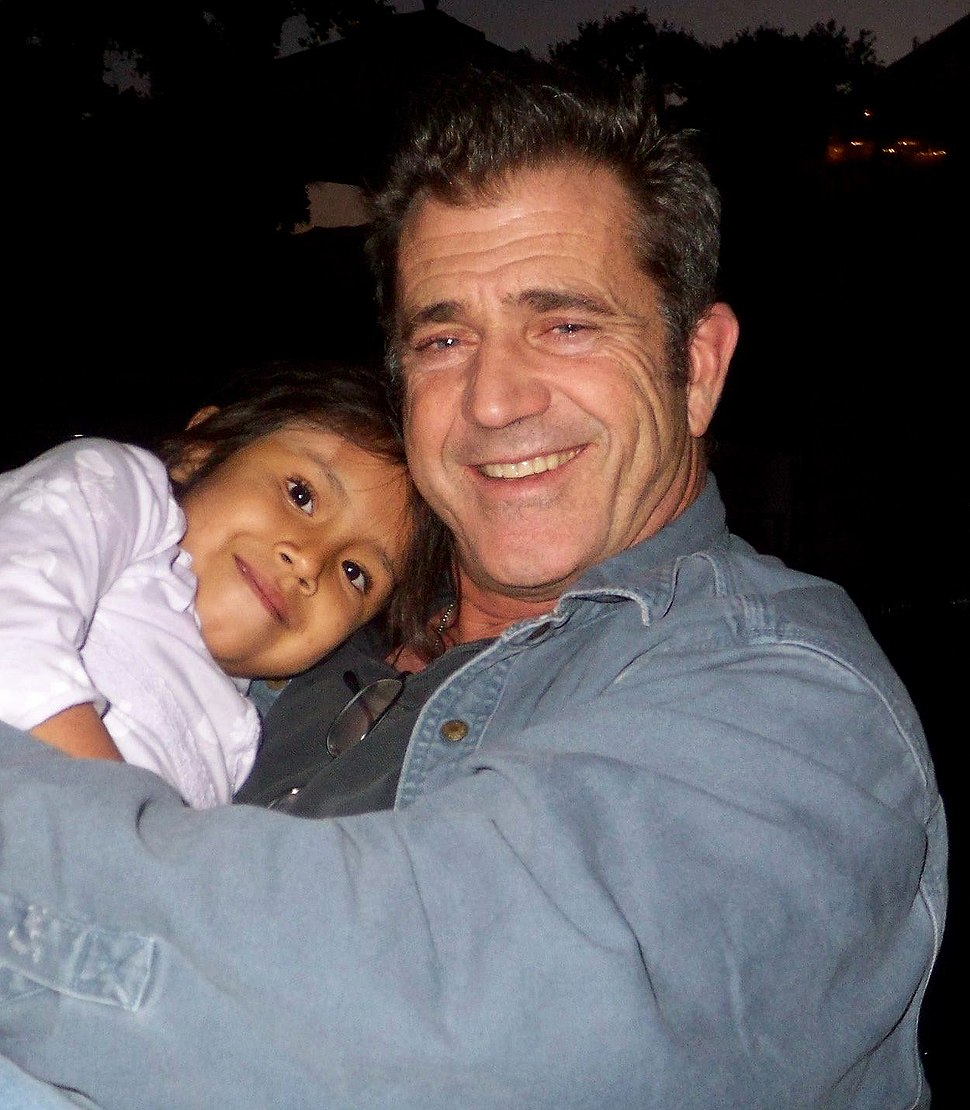 Mel Gibson with Domenica