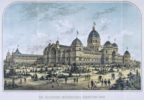 Melbourne international exhibition 1880