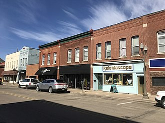 National Register of Historic Places listings in Dunn County, Wisconsin - Image: Menominee Historic District
