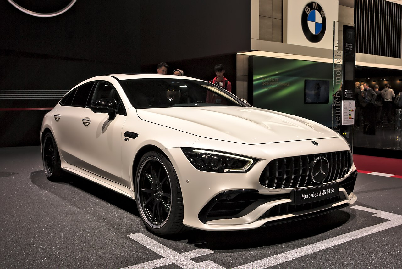 File:Mercedes-AMG GT 53 Genf 2018.jpg - Wikimedia Commons