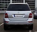 Mercedes-Benz ML 350 CDI 4MATIC Grand Edition (W 164, Facelift) – Heckansicht (1), 17. Mai 2012, Velbert.jpg