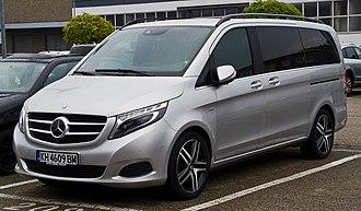 Mercedes-Benz Vito - Image: Mercedes Benz V 250 Blue TEC Edition 1 Lang (V 447) – Frontansicht, 18. Oktober 2015, Ratingen