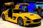 Mercedes Benz AMG SLS Black