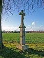 Merkenich Kreuz alte Roemerstrasse Denkmal 5910.jpg