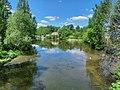 Meryanka river in Dolgoprudny town.jpg