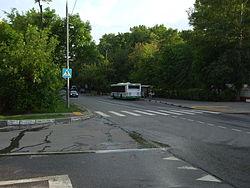 Улица автобусная остановка улица