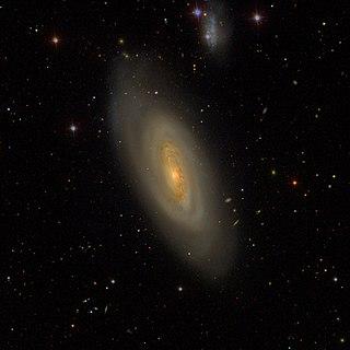 Messier 90 Galaxy