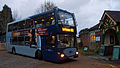 Metrobus 482 YN53 RYT and Kingscote railway station.jpg