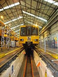 Metrocar 4023, Tyne and Wear Metro depot open day, 8 August 2010 (1).jpg