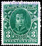 Mexico 1890-91 documents revenue F184.jpg