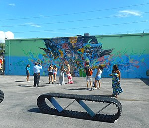 Wynwood - Image: Miami Wynwood Art District Wynwood Walls General View of Courtyard