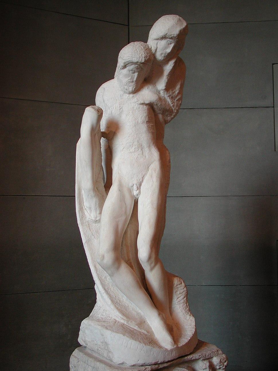 Michelangelo pietà rondanini