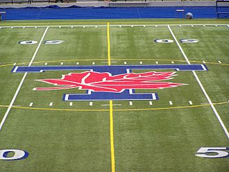 Varsity Stadium - Midfield at Varsity Stadium