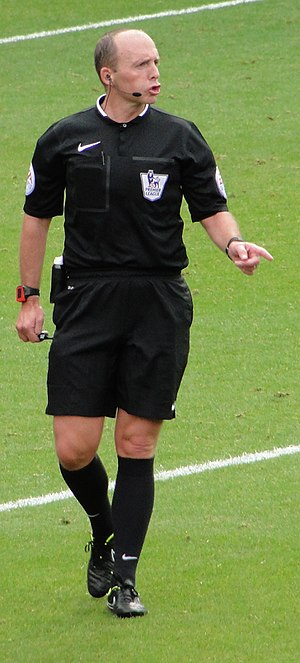 Mike Dean (referee) - Dean in 2014