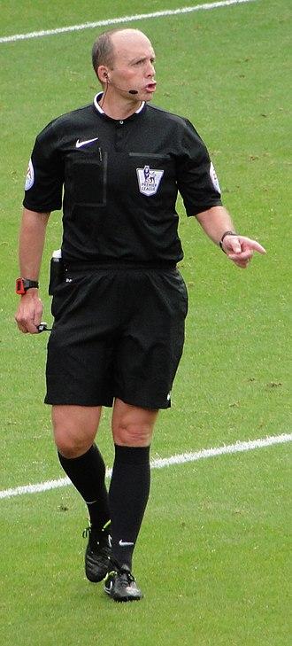 Mike Dean (referee) - Dean in 2014