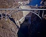 Mike O'Callaghan-Pat Tillman Memorial Bridge, Hoover Dam 2010-10-12.jpg