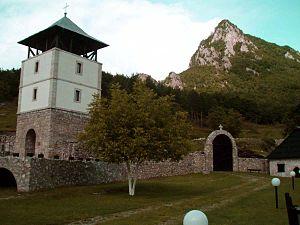 Mileševa monastery - Monastery tower
