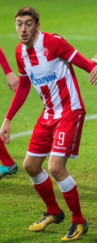 Milan Pavkov - Pavkov with Red Star Belgrade in 2018
