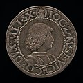 Milanese 15th Century, Giangaleazzo Maria Sforza, 1469-1494, 6th Duke of Milan 1476 (obverse), 1481-1494, NGA 139710.jpg