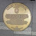 Miles Franklin plaque in Sydney Writers Walk.jpg