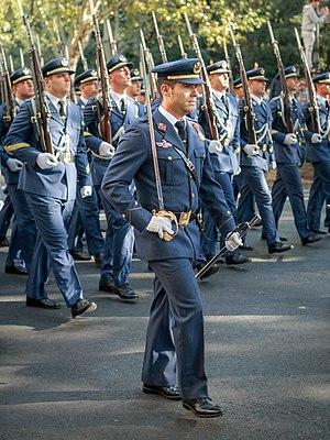 Fiesta Nacional de España - Image: Militares del Ejército del Aire de España