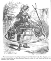 Milkmaid in crinoline, Punch, December 18 1858.png