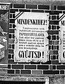 Mindenkihez! Papíroshulladék. Gyüjtsd! Plakát, 1943 Fortepan 72086.jpg
