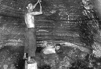 Mineros pican