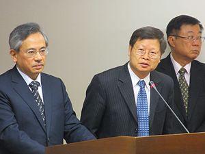 Chiu Wen-ta - Chiu in the Legislative Yuan