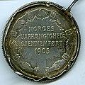 Minnemynt fra Kroningen 1906 - 2 kroner (Revers) (9205614225).jpg