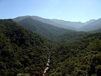 Itatiaia - View from Mirante do ultimo adeus., Itatiaia National Park
